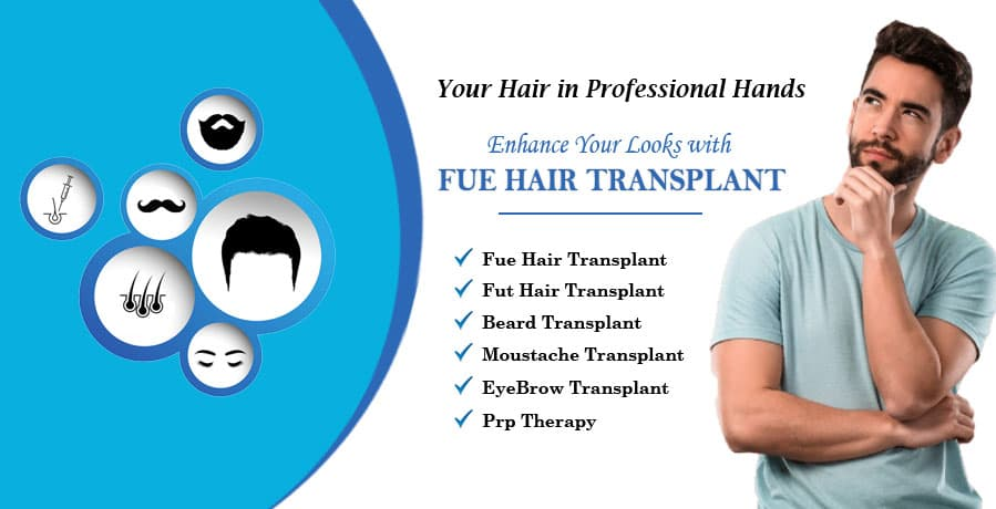 Hair Transplant In Lucknow @34,999